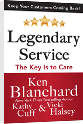 Customer service training programs Legendary Service book | Ken Blanchard
