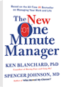 The New One Minute Manager Book for New Manager Training