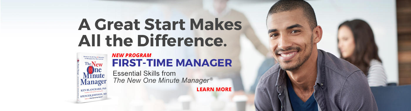 First-Time Manager Program