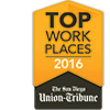 The Ken Blanchard Companies chosen in 2016 Best Places to Work in San Diego 2016