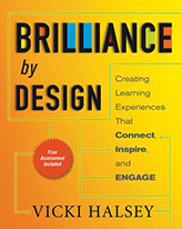 Brilliance by Design by Vicki Halsey