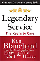 Legendary Service by Ken Blanchard and Vicki Halsey