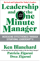 Leadership and the One Minute Manager by Ken Blanchard and Drea Zigarmi