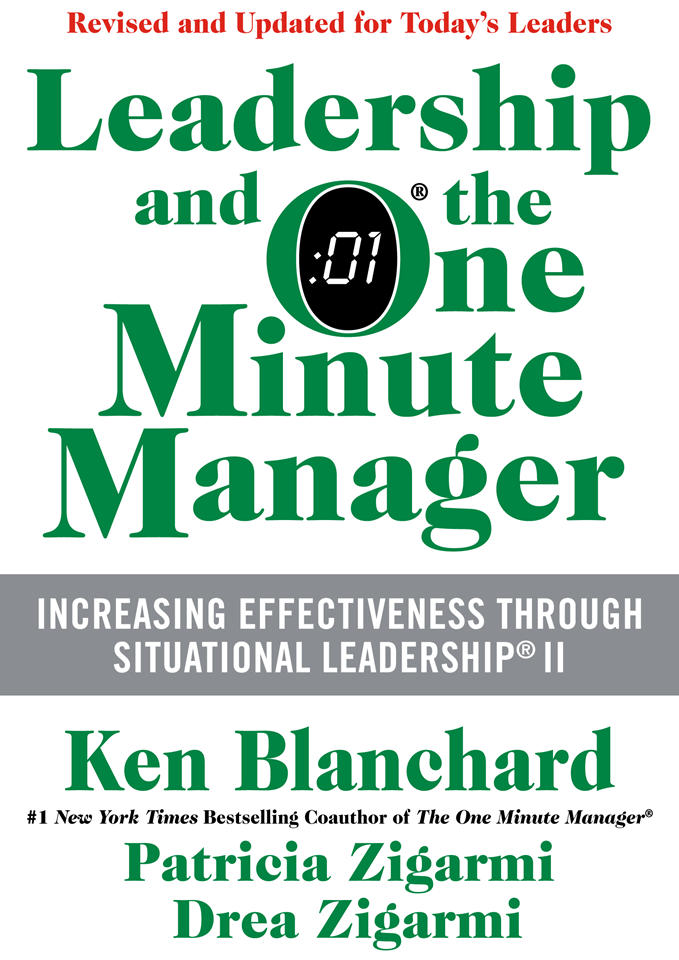 ken blanchard book the secret leadership and the one minute manager